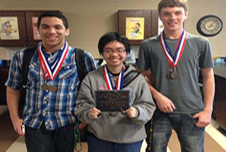 Computer Science Team Wins Competition