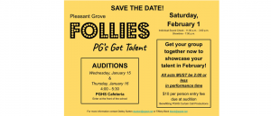 Annual 'Follies' Come to PG