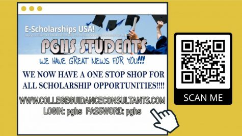 Students can visit the above website or scan the QR code to be taken to the scholarship website.