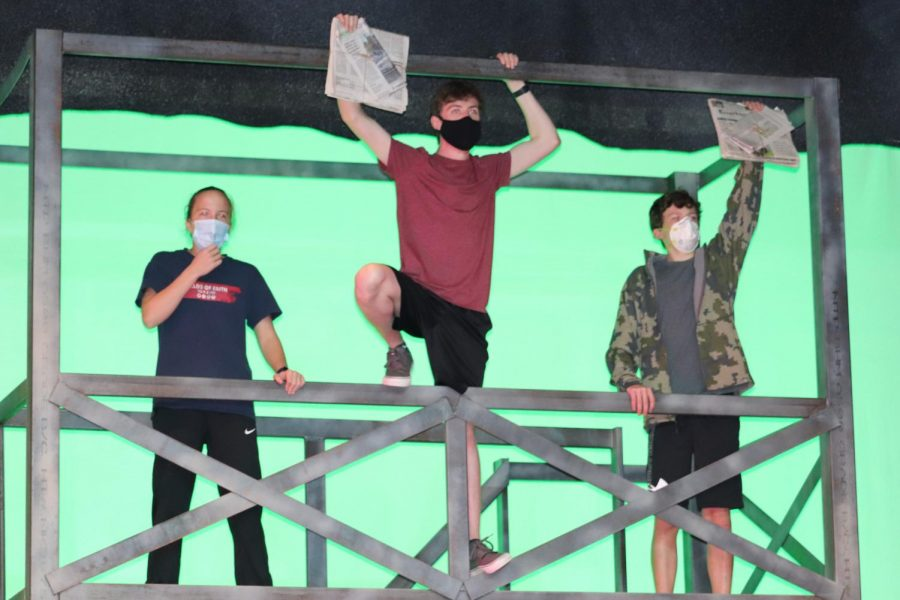Newsies comes closer to completion